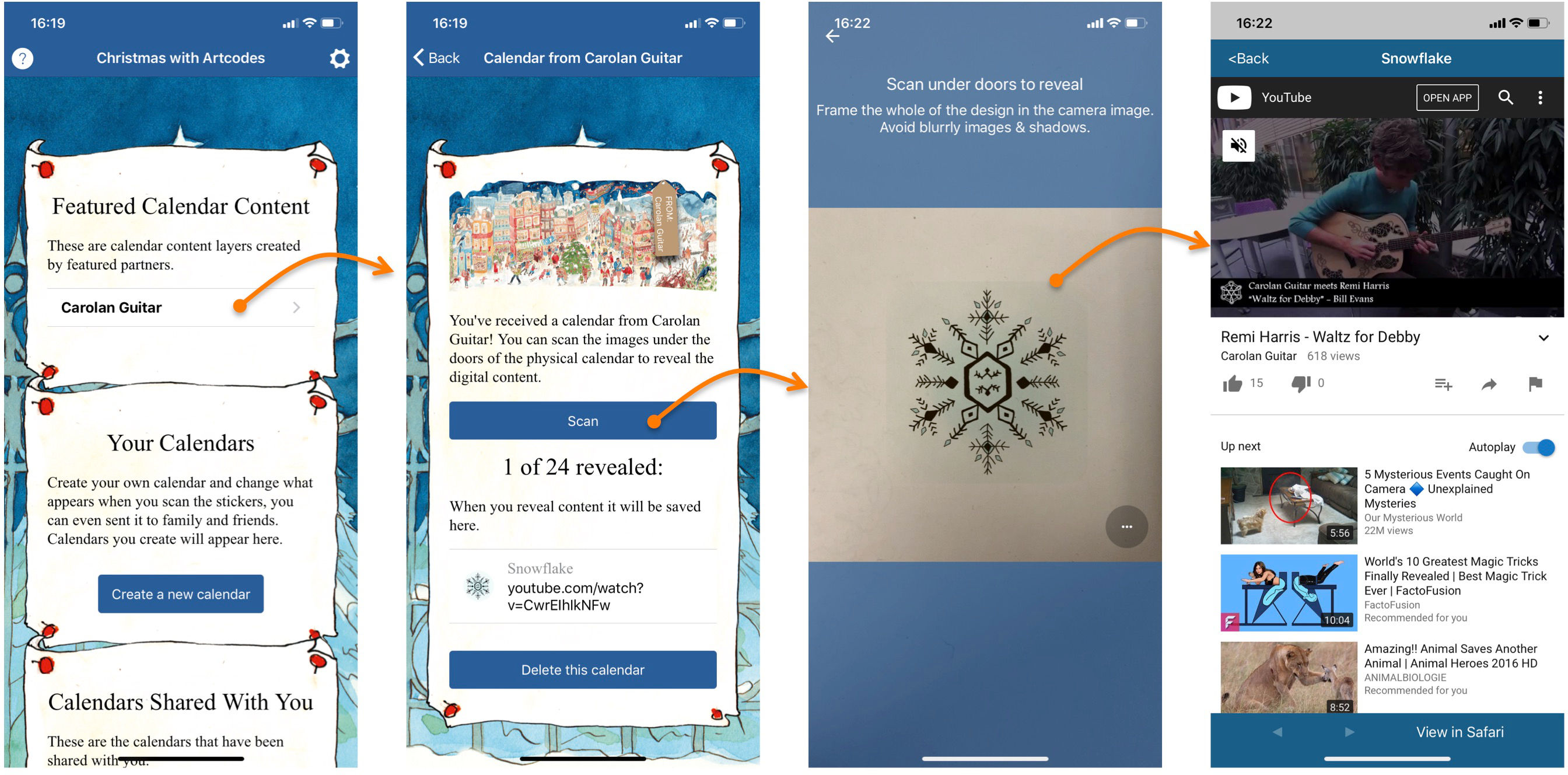 How to use Christmas with Artcodes - Artcodes co uk